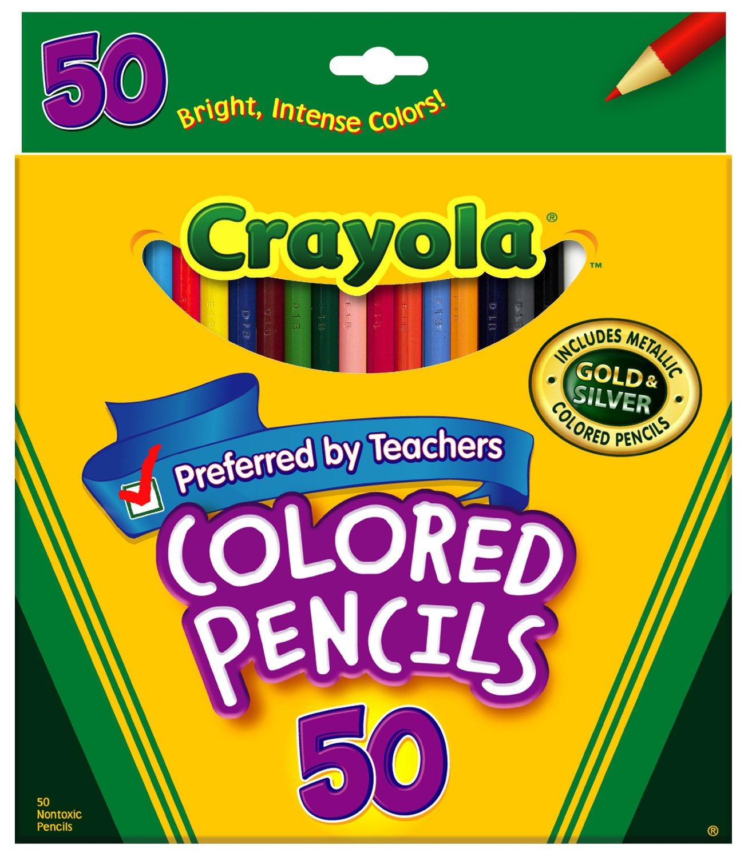 crayola colored pencils
