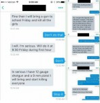 ID Teen Threatens School Shooting When Cheerleaders Refuse to Send Nude Selfies