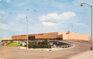 Houston International Airport, Houston, TX (1958 postcard)