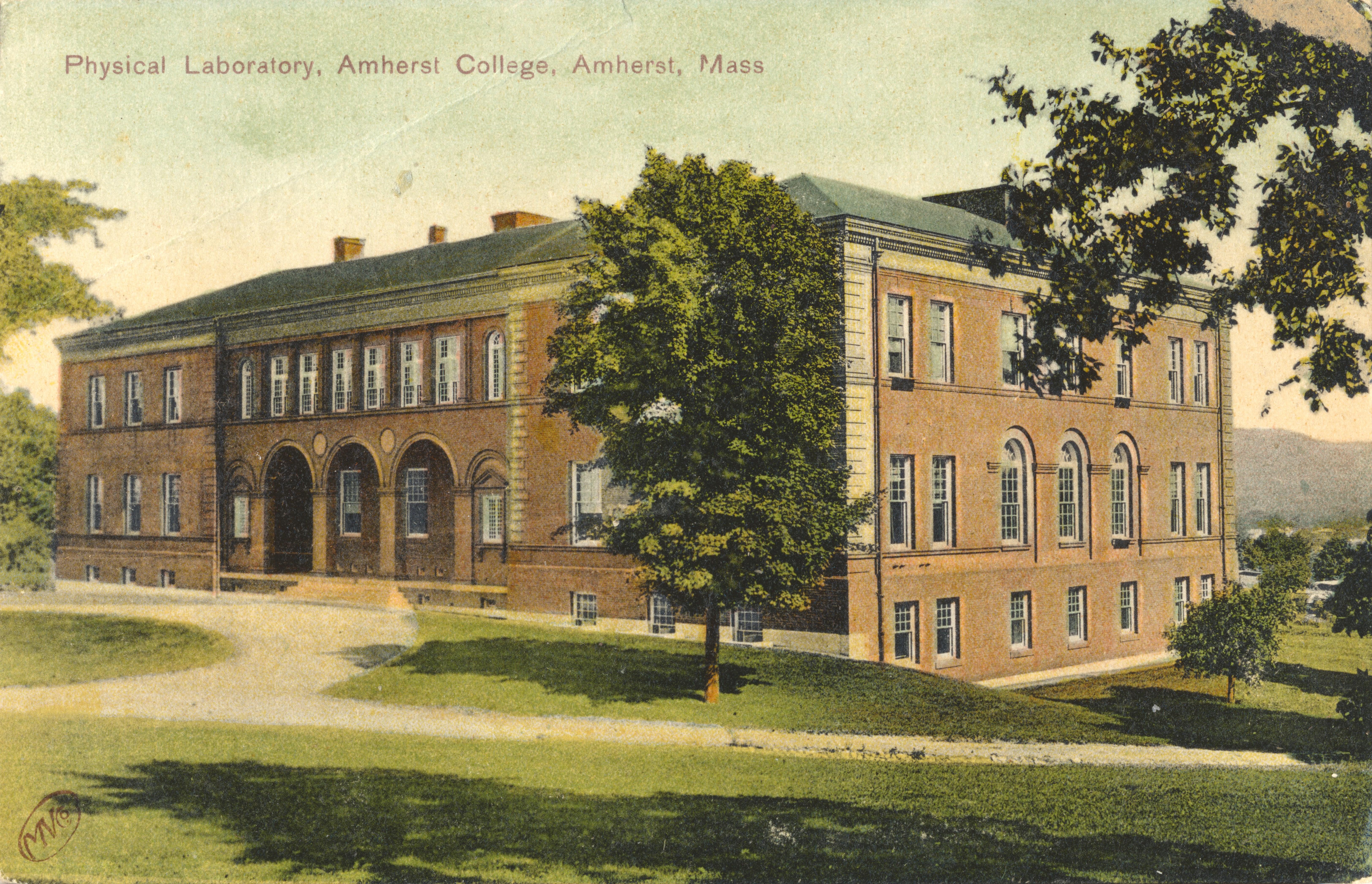 amherst college postcards 1900 1909 frederick s lane