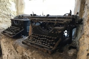 Old Typewriters, Islay, Scotland