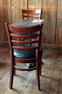 Coffee Table, Muddy Waters Coffee House, Burlington, VT
